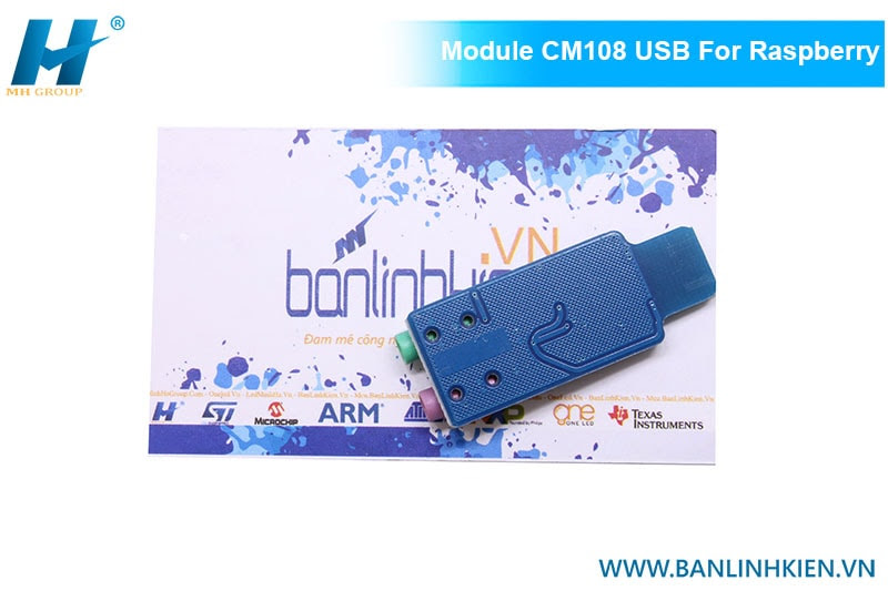 Module CM108 USB For Raspberry