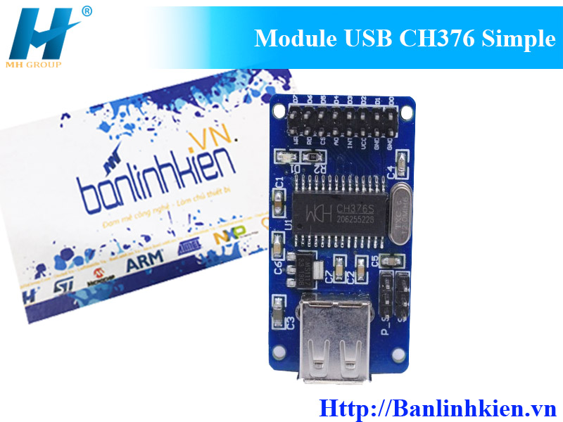 Module USB CH376 Simple