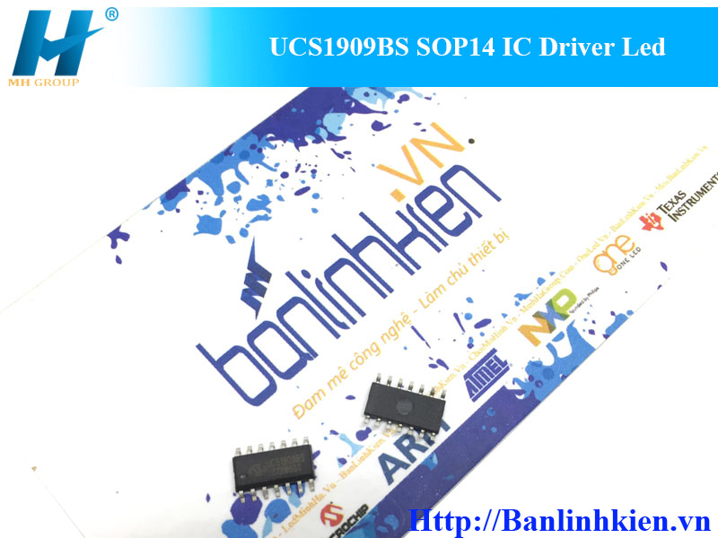 UCS1909BS SOP14 IC Driver Led
