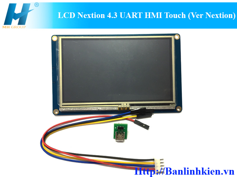 LCD Nextion 4.3 UART HMI Touch (Ver Nextion)