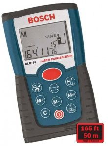 Bosch DLR165K Digital Laser Range Finder Kit