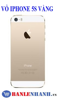 VỎ IPHONE 5S GOLD ZIN