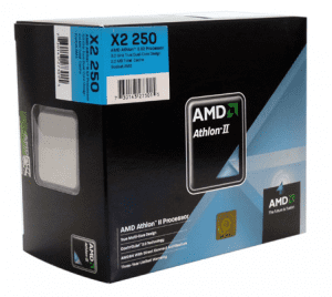 AMD Athlon II X2 245 Regor (2.9GHz, 2 x 1MB L2 Cache, Socket AM3, 4000MHz FSB)