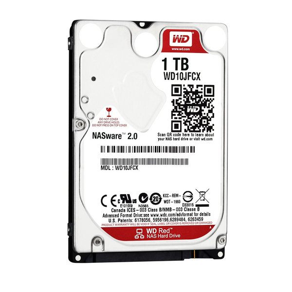 Western Digital Red 1TB 2.5'' Intellipower 16M FOR NOTEBOOK