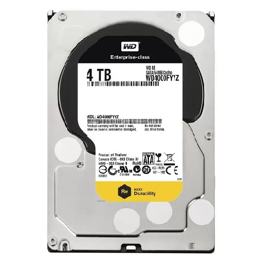 Western Digital Enterpise 4TB RE 7200Rpm 64M