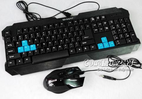 SMART A6 + Mouse Smart PRO Gaming A6 Giả cơ