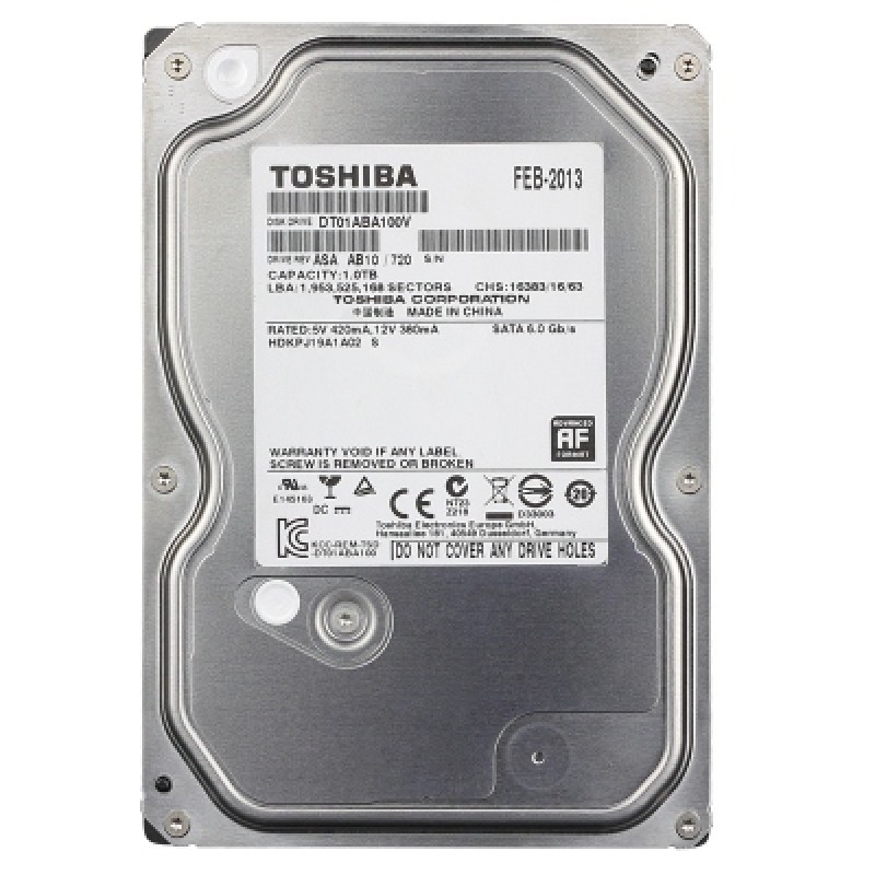 HDD Toshiba SURVEILLANCE Camera AV 5TB 7200Rpm 64M