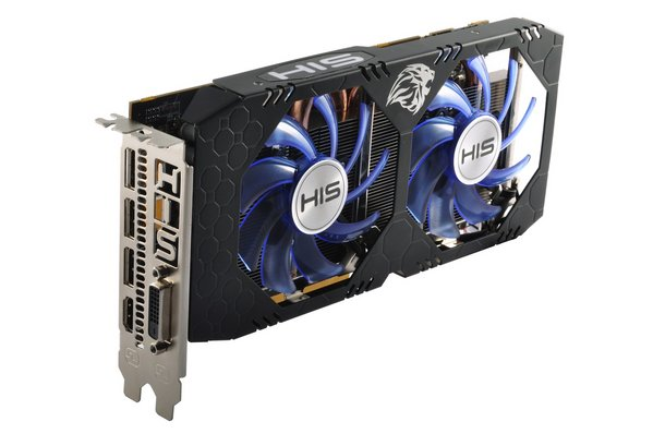 His RX 570 4GB ddr5 ICeq X2 256 bit