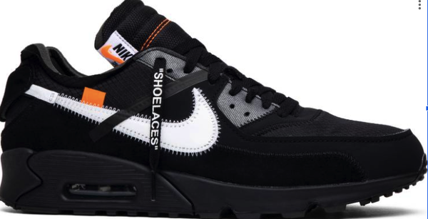 Nike air max 90 off white đen