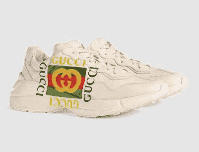 Gucci rhyton cream logo rep