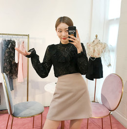 CHUU Our Anniversary Blouse