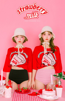 Strawberry Milk - Strawberry Taste Knit