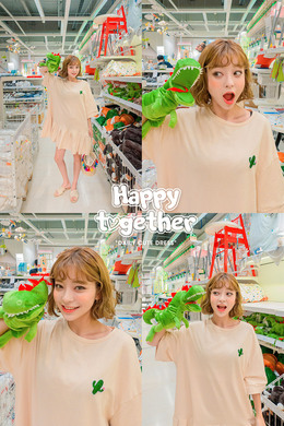CHUU Done Preparing Cactus Dress