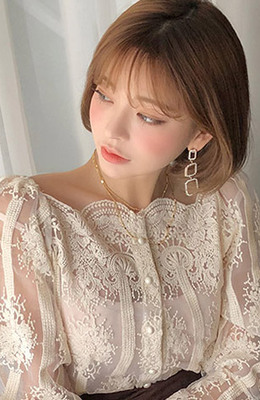 CHUU High Shine Earring