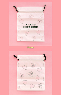 CHUU nice to meet chuu beach bag