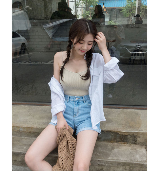 CHUU Great As Single Cami Top
