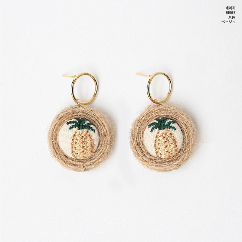 CHUU Pineapples For You Earring