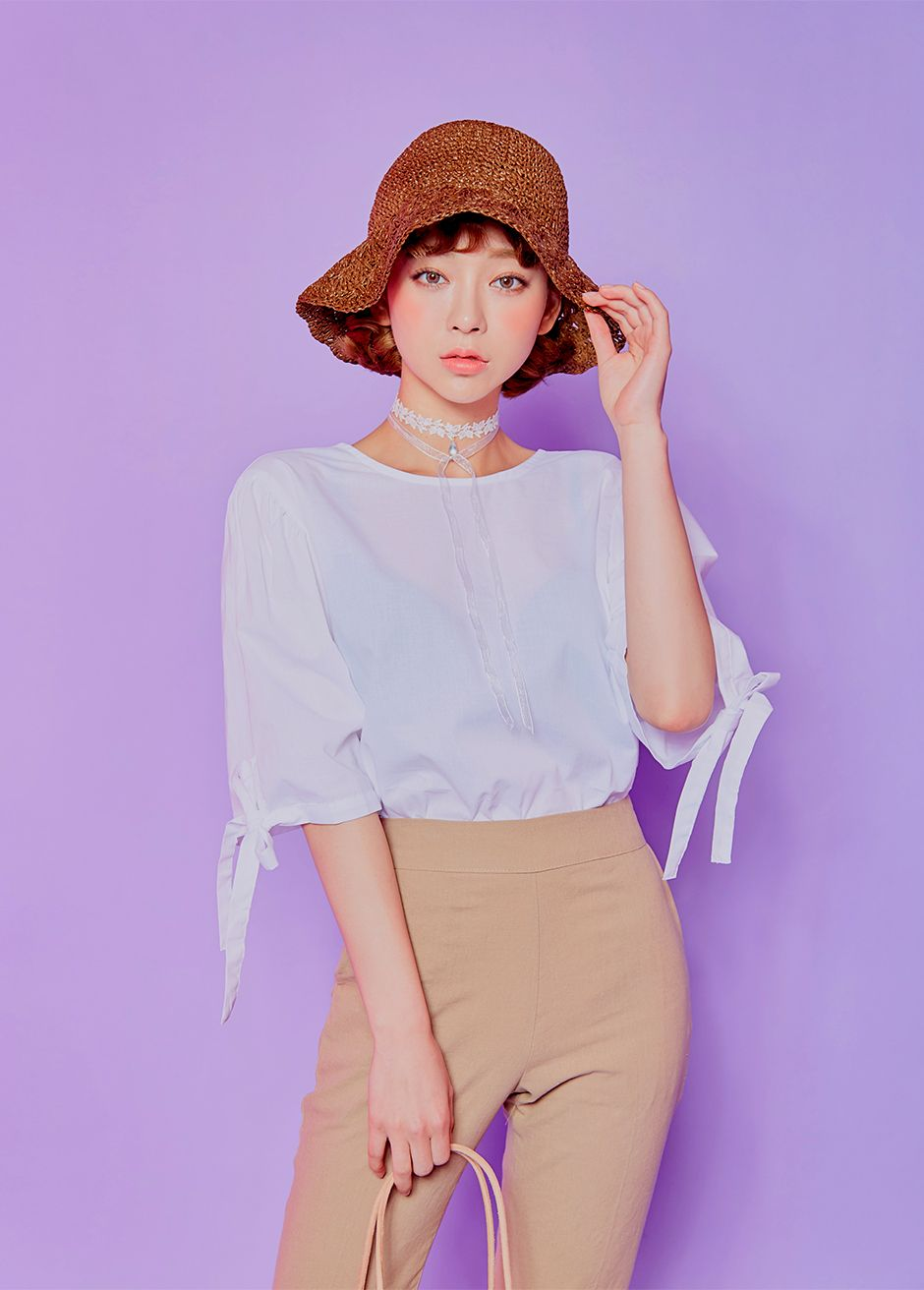 CHUU Speak My Mind Blouse