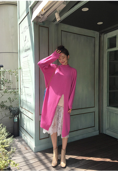 CHUU Long Boxy Dress Pull Over