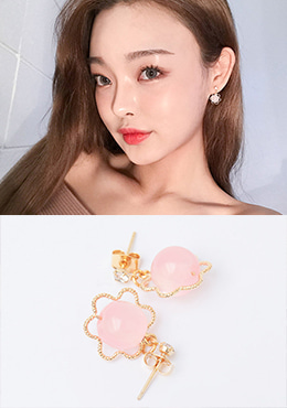 CHUU My Lovely Friend Earring