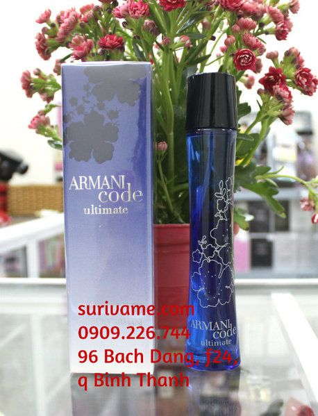Armani Code Ultimate Femme ( code xanh )