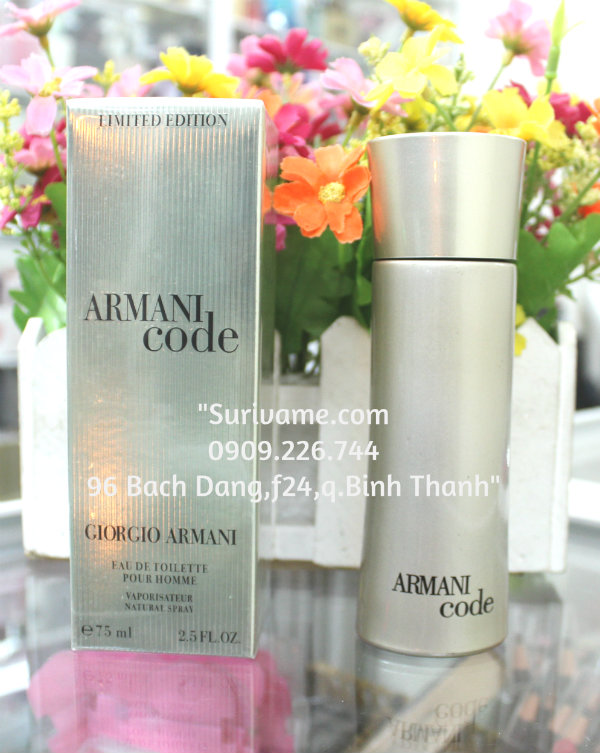 Armani Code Ice for Men ( code bạc )