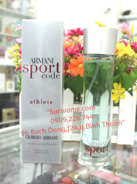 Armani Code Sport Athlete Giorgio Armani for Men ( nước xanh)