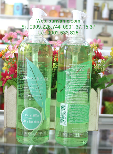 (SL135)Sữa tắm Elizabeth Arden Green Tea Relaxing Bubble Bath