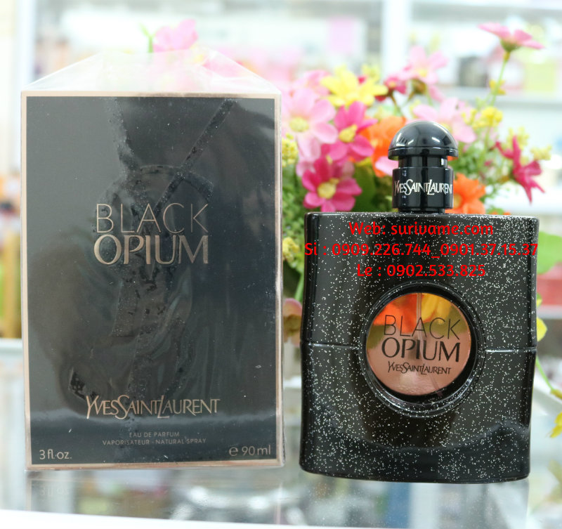 (SL110)Black Opium Yves Saint Laurent for women EDP 90 ml