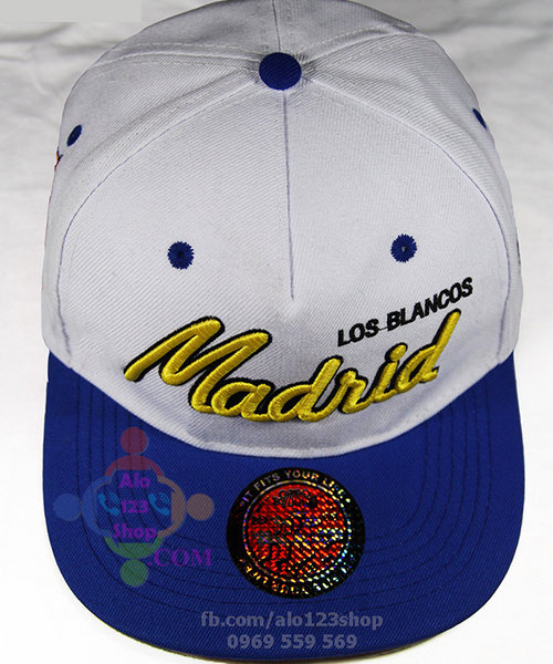 Nón SnapBack Real Madrid 01