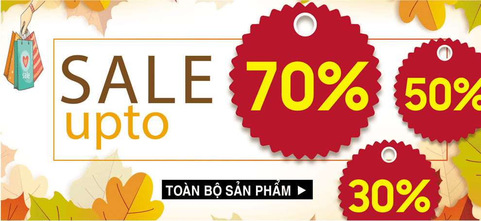Sale up to 70 tháng 8