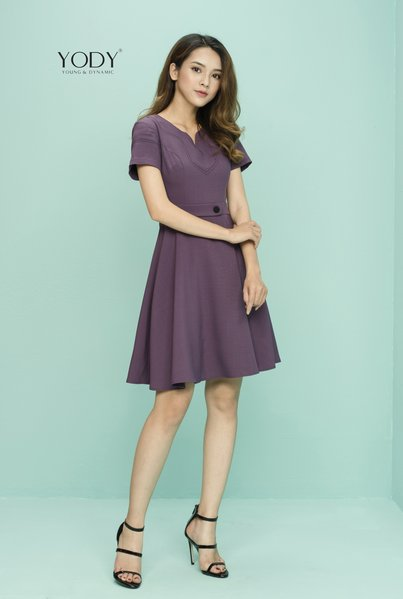 Đầm MON DRESS_Tím (DCS1346_PUR)