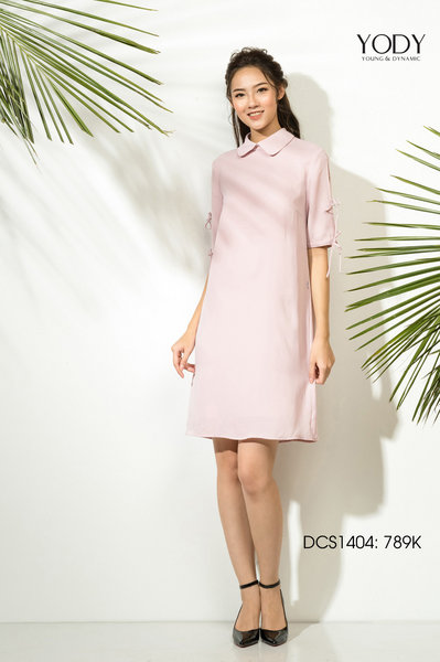 Đầm LAN DRESS_Hồng. (DCS1404_PIN.)