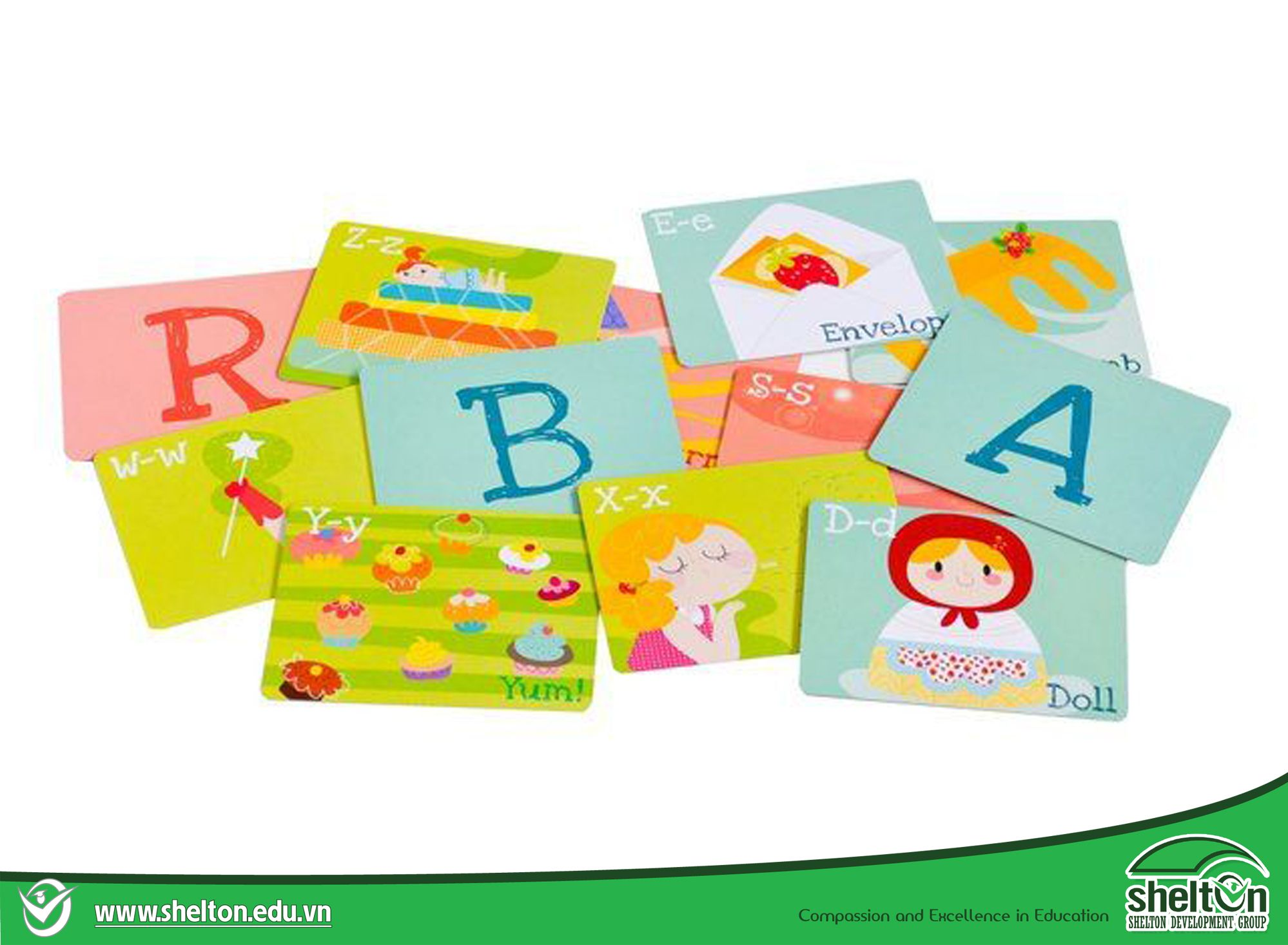 Alphabet flash card for kids