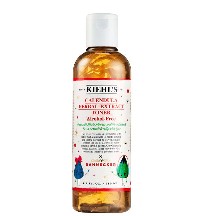 KIEHL'S - Nước hoa hồng Calendula Herbal-Extract Toner Alcohol-Free Limited Edition Bannecker 250ml