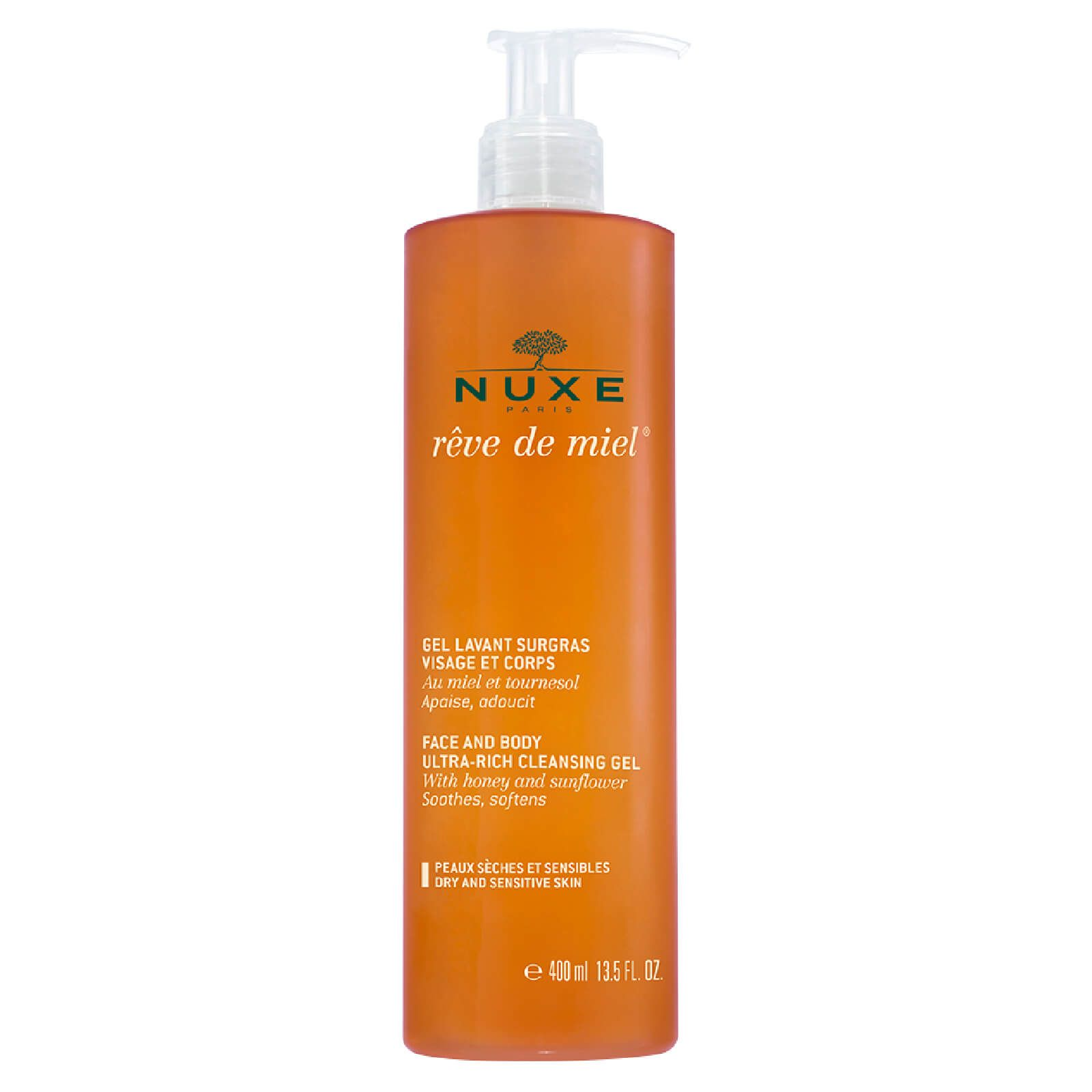 NUXE - Face And Body Ultra-Rich Cleansing Gel 400ml