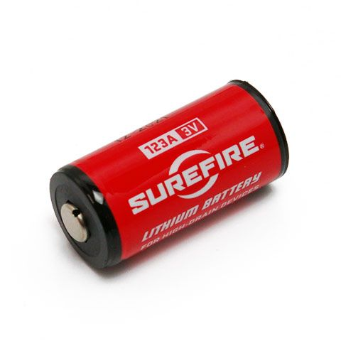 Pin SUREFIRE 123A CR123A 3 Volt Lithium Batteries (Box of 12) Exp Date 2024