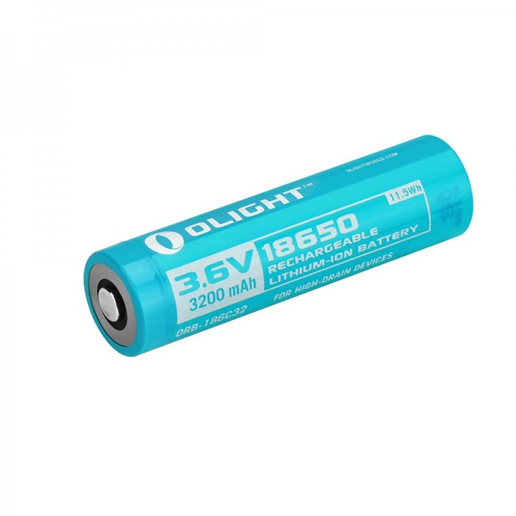Pin Olight 18650 3200mAh cho S2R