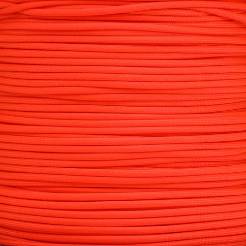 Neon Orange 550 Paracord