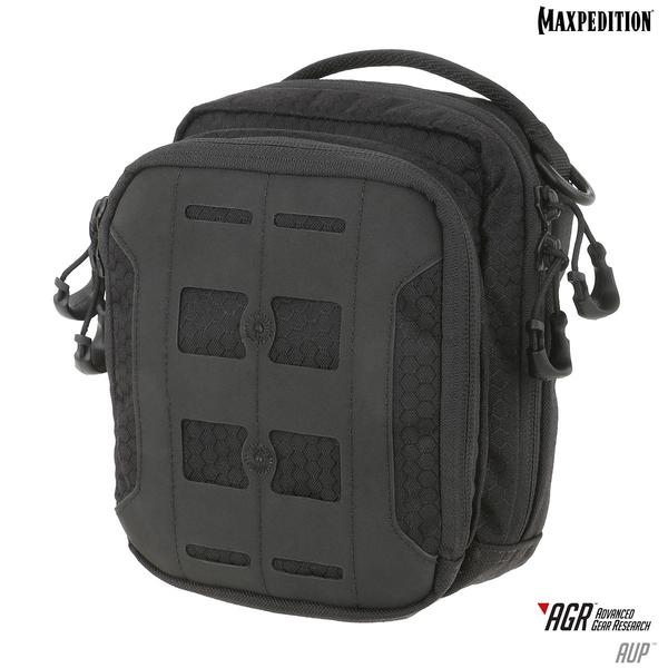 Maxpedition - Túi AUP BLACK (Màu Đen Accordion Utility Pouch - AUPBLK)