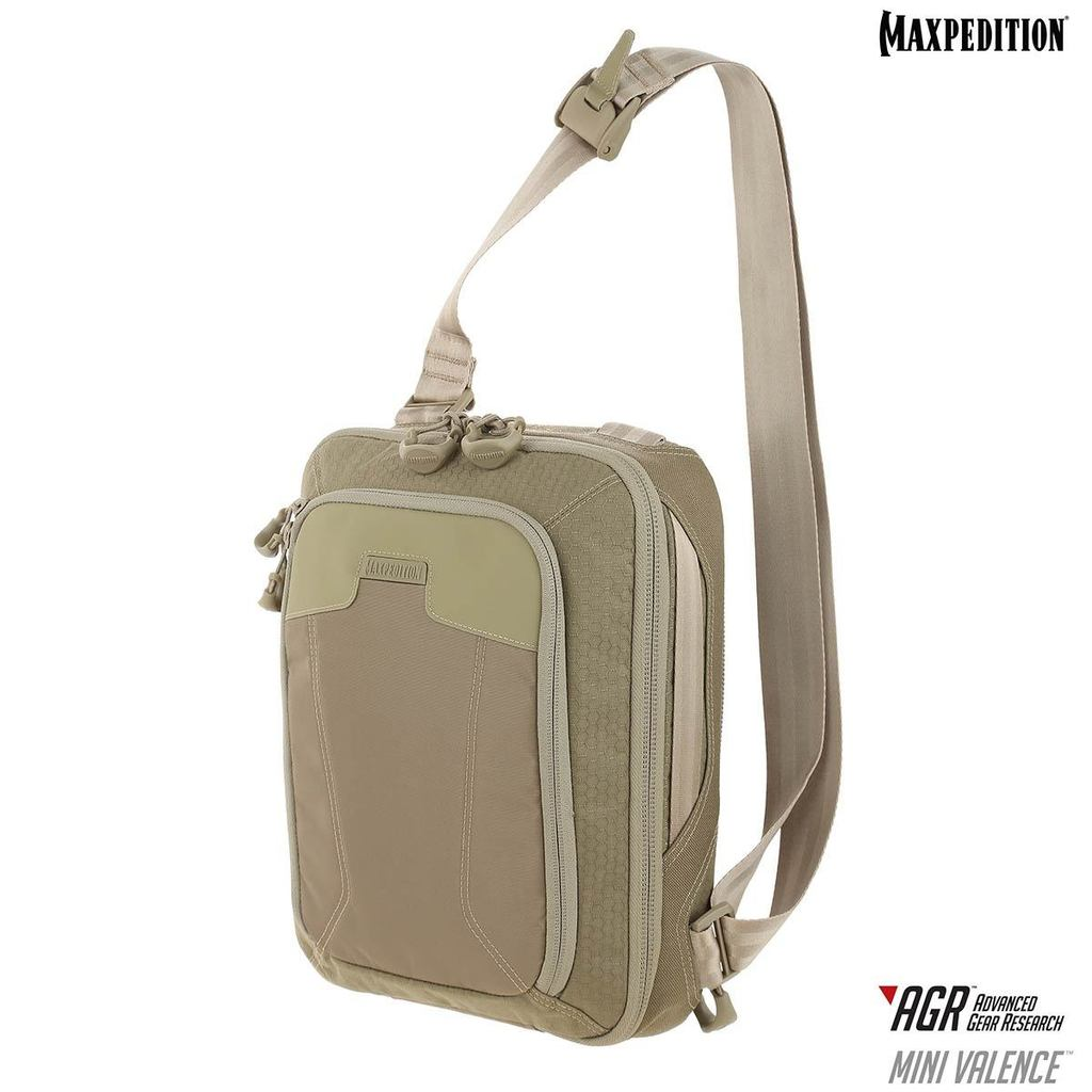 Maxpedition -Túi MINI VALENCE Tech Sling Pack 7L Tan (Màu Vàng nâu - MVLTAN)