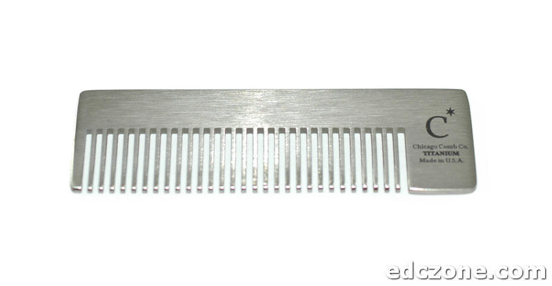 Lược Chicago Comb Model No. 4 - Titanium