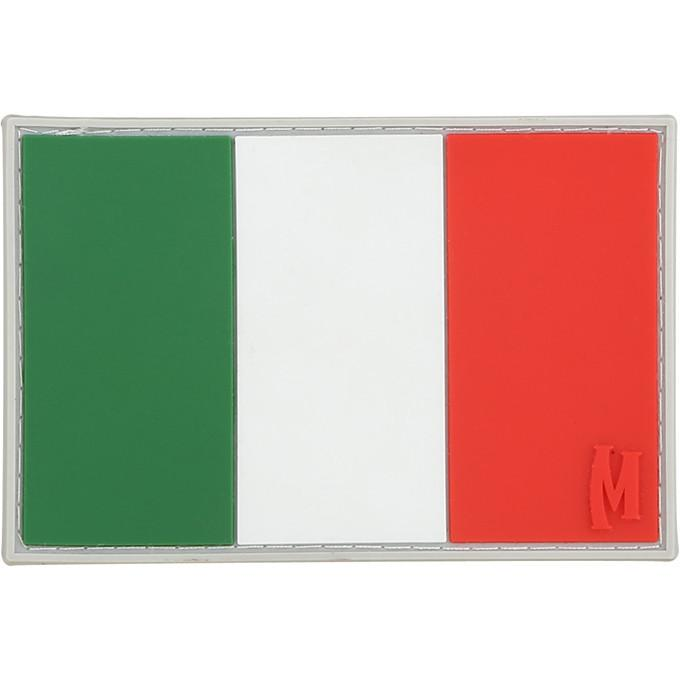 Maxpedition - Phù hiệu Italy Flag Patch (Large - Full Color) (Cờ Italy Màu sắc - Cao su PVC 3' x 2') ITALC