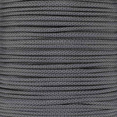 Dây Paracord - Màu Than Xám Rằn Ri - Charcoal Grey Black Diamonds (CGBD.550)