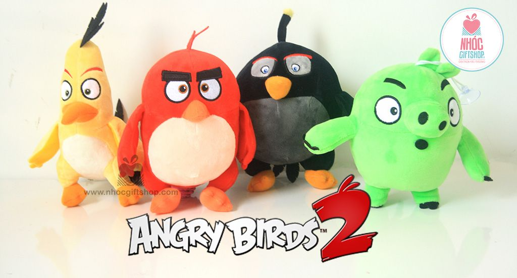 New Arrival - Thú bông Angry Bird