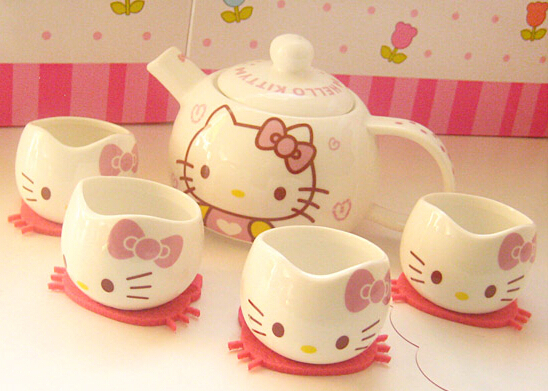 Bộ ly tách Hello kitty 280