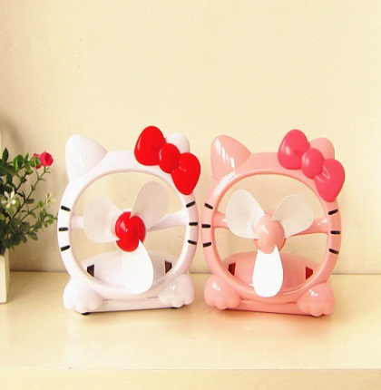 Quạt Sạc USb Hello Kitty