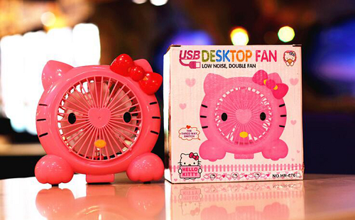 Quạt USB Hello Kitty HR 876
