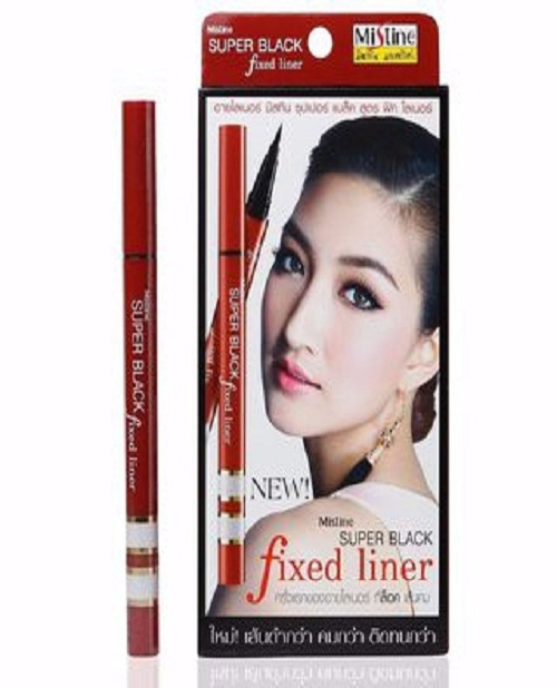 Kẻ mắt mistine super black fixed liner