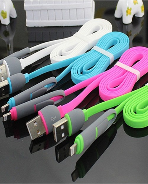 Dây cáp USB 2in1 cho Android, iOS